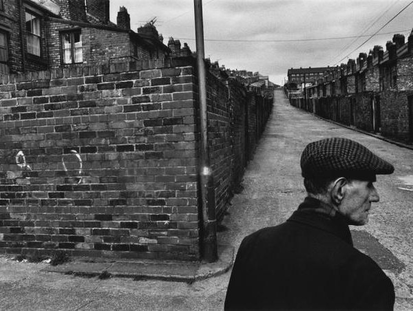 Le motif du mur dans l'œuvre de Koudelka - Angleterre 1976